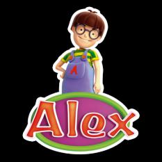 Alex in sea